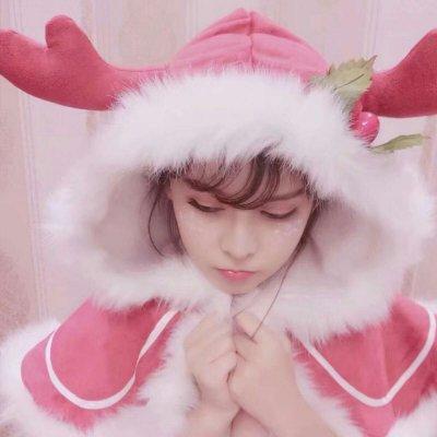 2018圣诞头像可爱女生大全 我会一直爱就算你不在