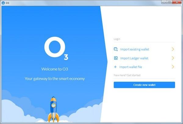 O3区块链跨平台客户端